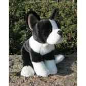 peluche bulldog francais 22cmht anima 1658