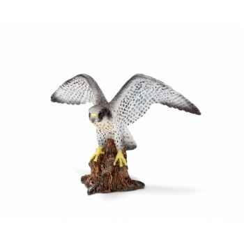 Figurine faucon pèlerin schleich-14633