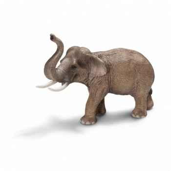 Figurine éléphant d\'asie mâle schleich-14653