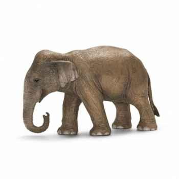 Figurine éléphant d\'asie femelle schleich-14654