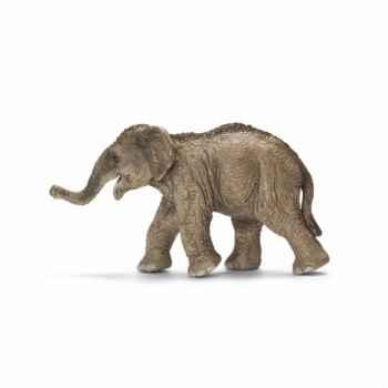Figurine éléphanteau d\'asie schleich-14655