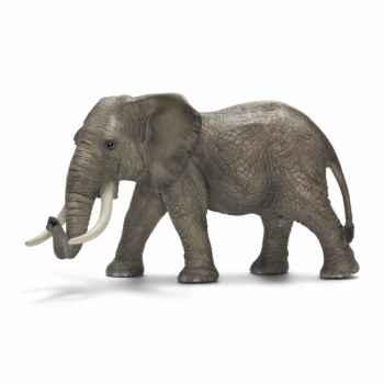 Figurine éléphant d\'afrique mâle schleich-14656