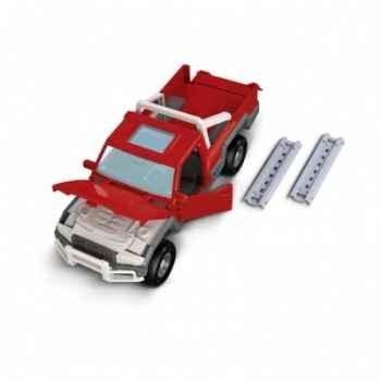 Figurine pick-up avec conducteur schleich-42090