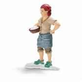 figurine fermiere schleich 13468