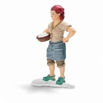 Figurine fermière schleich-13468