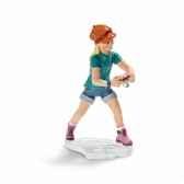 figurine jeune fille avec appareiphoto schleich 13469