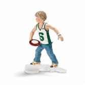 figurine garcon avec frisbee schleich 13903