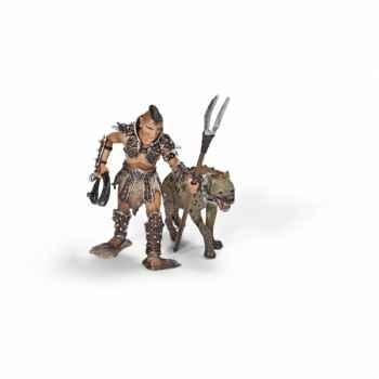 Figurine gladiateur avec hyène schleich-70079