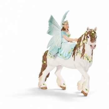Figurine eyela à cheval schleich-70452