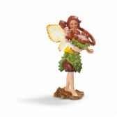 figurine elfe des marronniers maifemme avec son compagnon schleich 70454