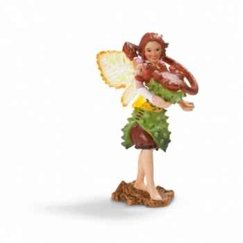 Figurine elfe des marronniers, maifemme, avec son compagnon schleich-70454