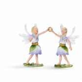 figurine elfes jumeaux des anemones schleich 70458
