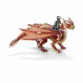 figurine elfe jeune cavalier de dragon schleich 70465