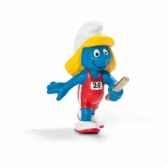 figurine schtroumpf sportif relayeuse schleich 20739