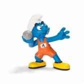 figurine schtroumpf sportif lanceur de poids schleich 20742