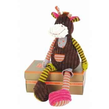 Peluche histoire d ours bric-a-brac mm velours girafe 2162 histoire d\'ours