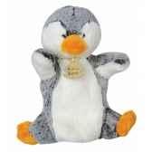 peluche histoire d ours marionnette z animoos pingouin 2131 histoire d ours