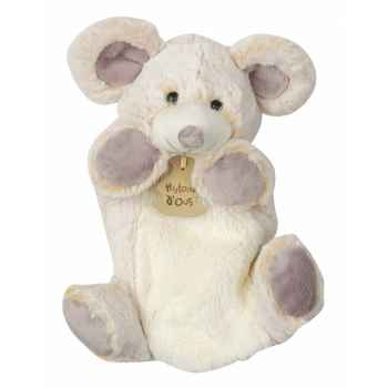 Peluche histoire d ours marionnette z animoos souris 2133 histoire d\'ours