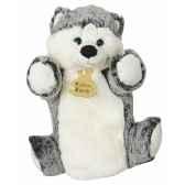 peluche histoire d ours marionnette z animoos husky 2134 histoire d ours
