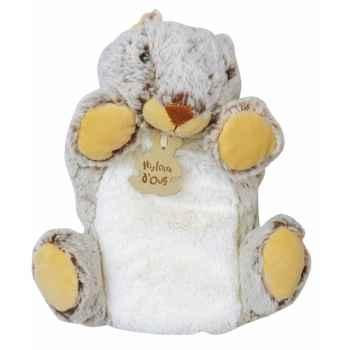 Peluche histoire d ours marionnette z animoos marmotte 2138 histoire d\'ours