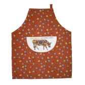 cow parade tablier coton tcl