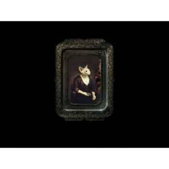 Visconti plateau tableau rectangulaire chat alice ibride