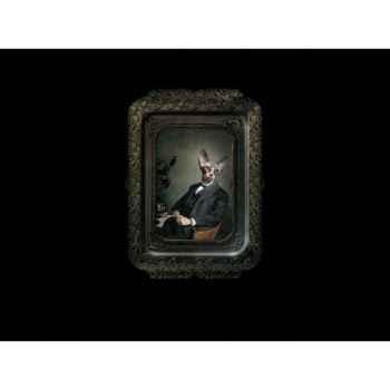 Visconti plateau tableau rectangulaire chat aristide ibride