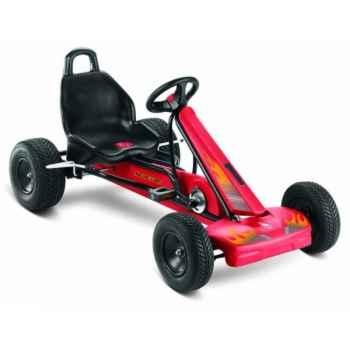 Karting à pédales Puky noir rouge F1L