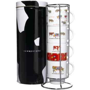Cow Parade-Distributeur de 4 Mugs - DISL