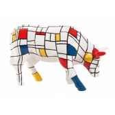 vache cowparade ceramique moondrian mmc47410