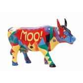 vache cowparade resine moo mmr47843