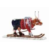 vache cowparade resine the ski cow mmr47844
