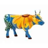 vache cowparade resine udderlysunflowers mmr47845