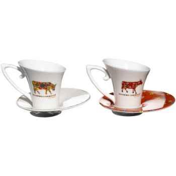 Cow Parade- Coffret de 2 Tasses à café -TASL
