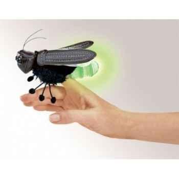Marionnette à doigt mini peluche luciole folkmanis 2728
