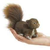 marionnette a doigt mini peluche ecureuiroux folkmanis 2735