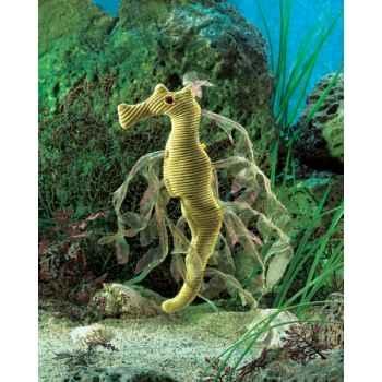 Marionnette à doigt mini peluche hypocampe dragon mer folkmanis 2737