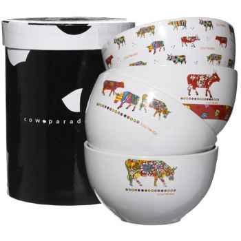Cow Parade-4 Bols -BOL L