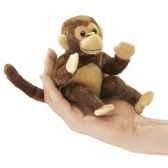 marionnette a doigt mini peluche singe folkmanis 2738