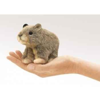 Marionnette à doigt mini peluche rat pika folkmanis 2741