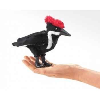 Marionnette à doigt peluche oiseau martin pêcheur folkmanis 2746