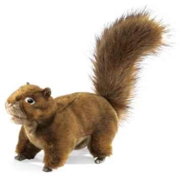 Marionnette peluche ecureuil folkmanis 2880