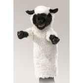 marionnette peluche mouton tete noire folkmanis 2884