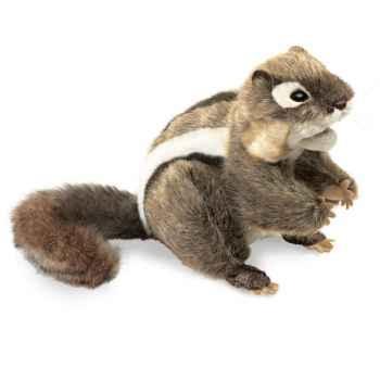 Marionnette peluche ecureuil folkmanis 2888