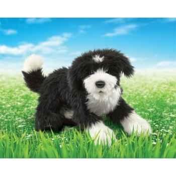 Marionnette peluche chien berger portugais folkmanis 2912