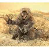 marionnette peluche singe babouin folkmanis 2914
