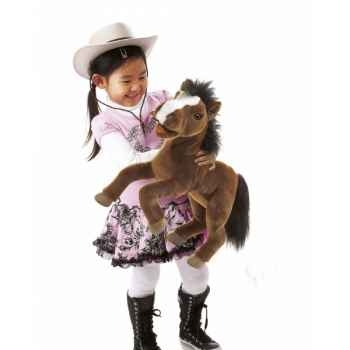 Marionnette peluche  cheval folkmanis 2924