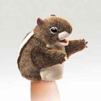Marionnette peluche  petit écureuil folkmanis 2929