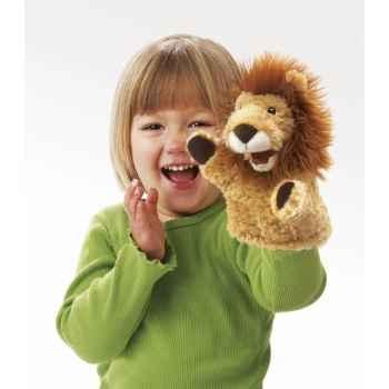 Marionnette peluche  petit lion folkmanis 2930