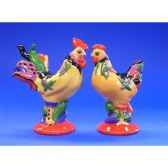figurine coq poultry in motion s p hot wings pm16702